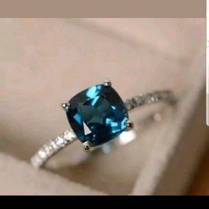 💍Restock 5⭐Peacock Sapphire Ring